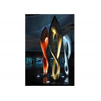 Painted Number Eight Stainless Steel Sculpture for Modern Outdoor Decoration Manufactures