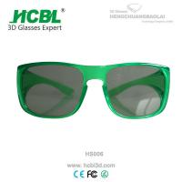 Stronger frame Circular Polarized 3D Glasses ocular passive movies system Manufactures