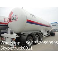 CLW brand 24.5tons bulk lpg gas tank trailer for sale, factory sale ASME standard lpg gas propane tanker trailer Manufactures