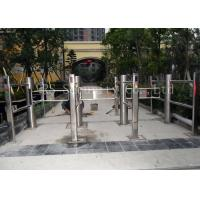 Intelligent Infrared Sensor Automatic Swing Gates , Stainless Steel Swing Barrier Manufactures