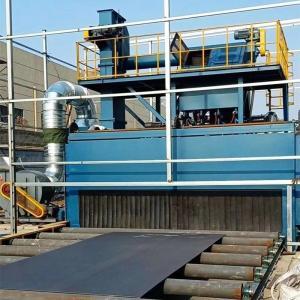 H Beam Roller Conveyor Shot Blast Peening Machine Rust Remove Manufactures