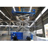 16m Mobile Self Propelled Scissor Lift Two Man Engine Powered For Tight Spaces Manufactures