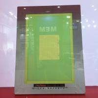Buy cheap Polyester screen printing mesh PW 165-420 mesh/inch-DN27micron for touch screen printing anti-acid application from wholesalers
