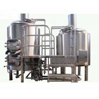 Stainless Steel  2 Vessel Brewhouse 20BBL Brewery Equipment With Electric Heating Manufactures