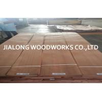 Sliced Cut Natural Quarter Cut Veneer Sapele / Sapelli Wood Veneer Sheet Manufactures