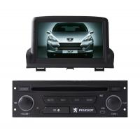 PEUGEOT 307 Car GPS Navigation System With Graphical User Interface Manufactures