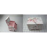 Recyclable Decorated Gift Boxes , Embossing / Matt Lamination Manufactures