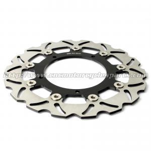 Quality Aluminum Front Motorcycle Brake Disc Set Yamaha YZF R3 FZ6 XJ6 CNC Machining for sale