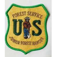 Customized Embroidery Patch with back heating for clothing accessories and hat Manufactures