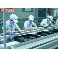 Metal Edge LED Light Assembly Line , Mobile Phone Assembly Line With PVC Belt Conveyor Manufactures