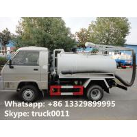 Forland mini 4*2 LHD/RHD vacuum truck for sale, factory direct sale cheapest price Forland 2-3m3 septic tank truck Manufactures