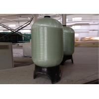 China Grey Industrial Water Filter FRP Pressure Tanks 1.0Mpa Dia. 30 To 48 on sale