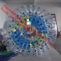 Quality Transparent water roller ball water game Aqua fun park water zone for sale