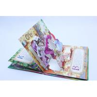 Quality Glossy Art Paper 3D Pop-Up Card Printing For Boardbook / Magazing Printing for sale