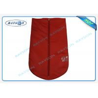 Breathable Reusable Protective TNT Material Garment Storage Bags With Handle Manufactures