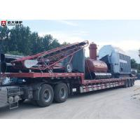 Buy cheap 8 Ton Coal Fired Steam Boiler / Wood Fired Boiler For Paper Plant Factory from wholesalers