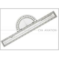 Aviation Supplies Ultimate Fixed Plotter For VFR Aeronautical Charts With Nautical Statute Conversion # CP-1 Manufactures