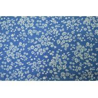 Dyeing Yarn Denim Print Fabric Shrink - Resistant With Custom Made Pattern Manufactures