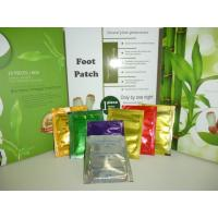 Silver , gold Detox Foot Patch , foot detoxification pads with chinese herbal fomulation Manufactures