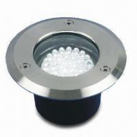 LED Ground Light with Die-casting Aluminum Body and Stainless Steel Cover, Measures 11 x 6cm Manufactures