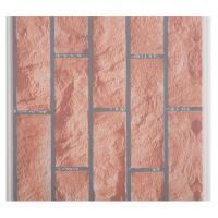 X Hollow Core Structure Plastic Brick Wall Panels , Decorative Plastic Wall Covering Sheets Manufactures