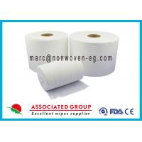 Food Services Spunlace Nonwoven Fabrics High Saturation Rate Embossed Manufactures