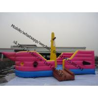 Inflatable pirate boat inflatable pirate ship  combo bouncy castle Manufactures