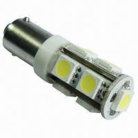 T10 BA9S LED Car Interior Light with 9-piece of Everlight 5050 SMD LEDs Manufactures