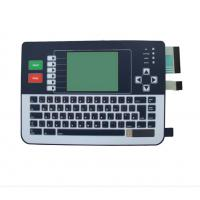 Buy cheap Matrix Embossed Buttons Membrane Keyboard Switch With Double Circuit / Connectors from wholesalers