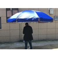 Silver Coated Garden Sunshades Parasols UV Resistant For Business Promotion Manufactures