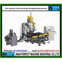 CNC Hydraulic Punching Drilling and Marking Machine for Plates used  In Transmission Tower Line Manufactures