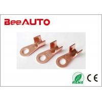 OT Model Electro Tin Plated Ring Copper Tube Terminals Ring Hole Diameter 13mm / 0.51inch Manufactures