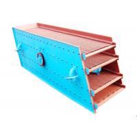 Industrial Mining Vibrating Screen Machine 32-350 M3 / H Processing Capacity ER2YK1860 Manufactures