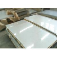 Quality Strong Corrosion Resistance Cold Rolled Stainless Steel Plate AISI 201 BA / 2B for sale