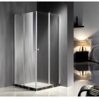 Square Corner Entry Glass Shower Cubicles 900 X 900 Free Standing Type Manufactures