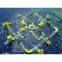 PVC Tarpaulin Inflatable Water Park Water Theme Water  Park For Adult In Beach Manufactures