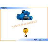 Aterial Handling Metallurgy Industrial Electric Hoist Low Noise Suitable For Plant Manufactures