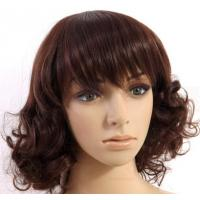 New Stylish Synthetic Hair Wigs Natural Curly Women natural looking synthetic wigs Manufactures