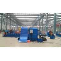 Hydraulic 1250 mm PPGI Coil Decoiler / Decoiling Machine With Capacity 10 Ton Manufactures