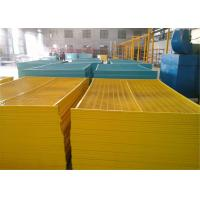 """Quality 6'x9.6' canada standard construction fencing panels frame 1.2""""/30mm*1.4mm thick for sale"""