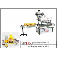 High Speed Spindle Bottle Screw Capping Machine Flexible With 60-150 Bottles / Min Manufactures