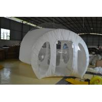 Inflatable Bubble Tent , 4m Diameter  TPU Traveling Tent Waterproof Manufactures