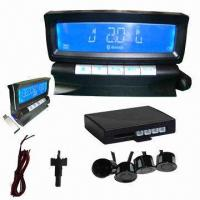 Quality Wireless parking sensor with 4-sensor LCD display for sale