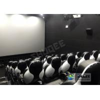 Buy cheap Customize Seats 5D Theater System Leather And Fiberglass Material from wholesalers