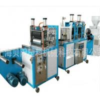 PVC Heat Shrinkable Blown Film Equipment , 11KW Extruder Blowing Machine Manufactures