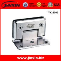 China precision casting stainless steel glass hinge on sale