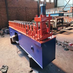 Hydraulic Automatic Rolling Shutter Machine , Galvanized Steel Slat Shutter Door Machine Manufactures