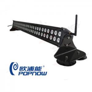 12 - 24V 60w Multi-function Off Road Led Light Bar Wireless Remote Control LED Bar Light Manufactures
