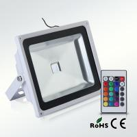 Epistar 50W RGB led floodlight for outdoor Manufactures