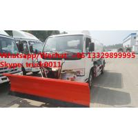 Quality New Diesel dongfeng 5000Liters 5CBM 5tons 5MT Water tank for sale, customized for sale